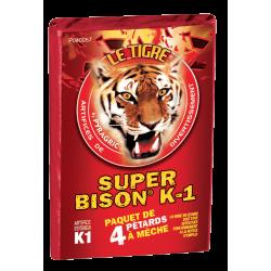 Pétard le Tigre Super Bison K1 x 10 Paquets