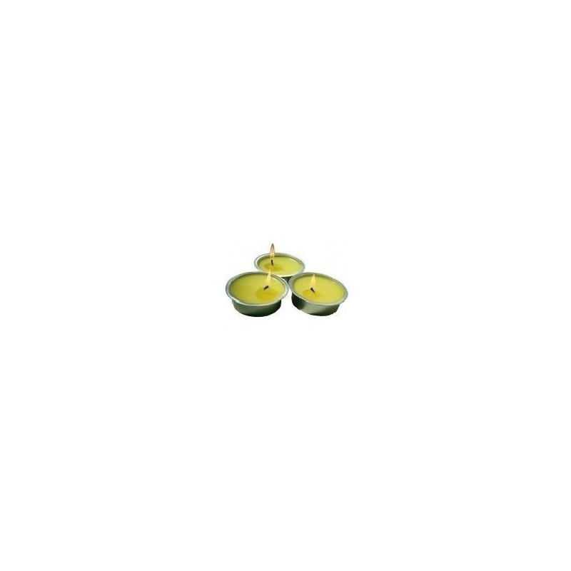 Bougies senteurs citronnelles  20 mm x12