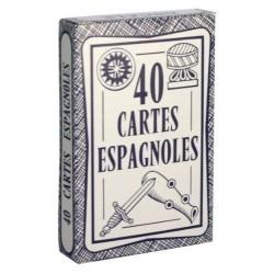 Jeu de 40 cartes Espagnoles