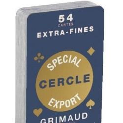 Jeu de 54 cartes Spécial Cercle
