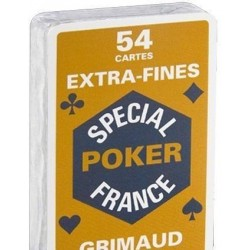 Jeu de 54 cartes Spécial Poker