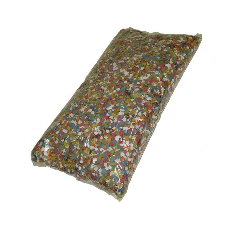 100 Grammes de Confettis Multicolores