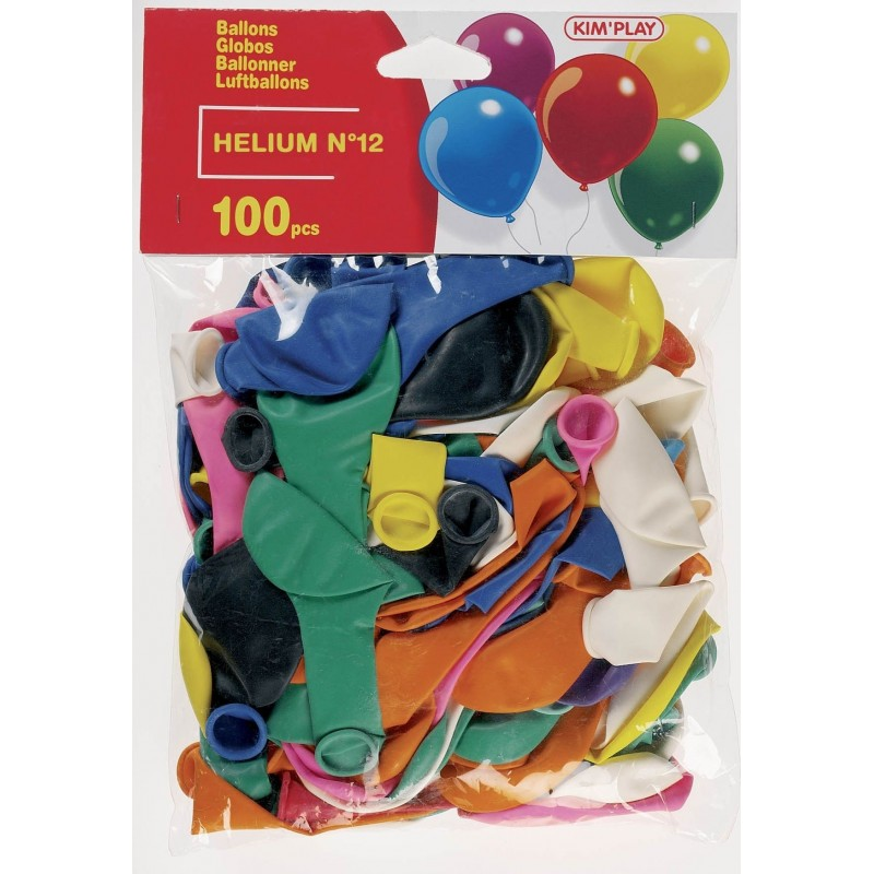 100 Ballons Hélium
