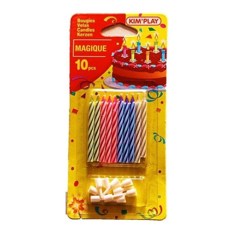 10 Bougies Magiques