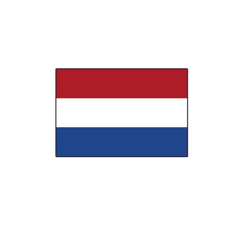 Patch ecusson brode imprime voyage souvenir drapeau pays bas hollandais