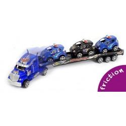 Camion de Transport avec 3 Voitures