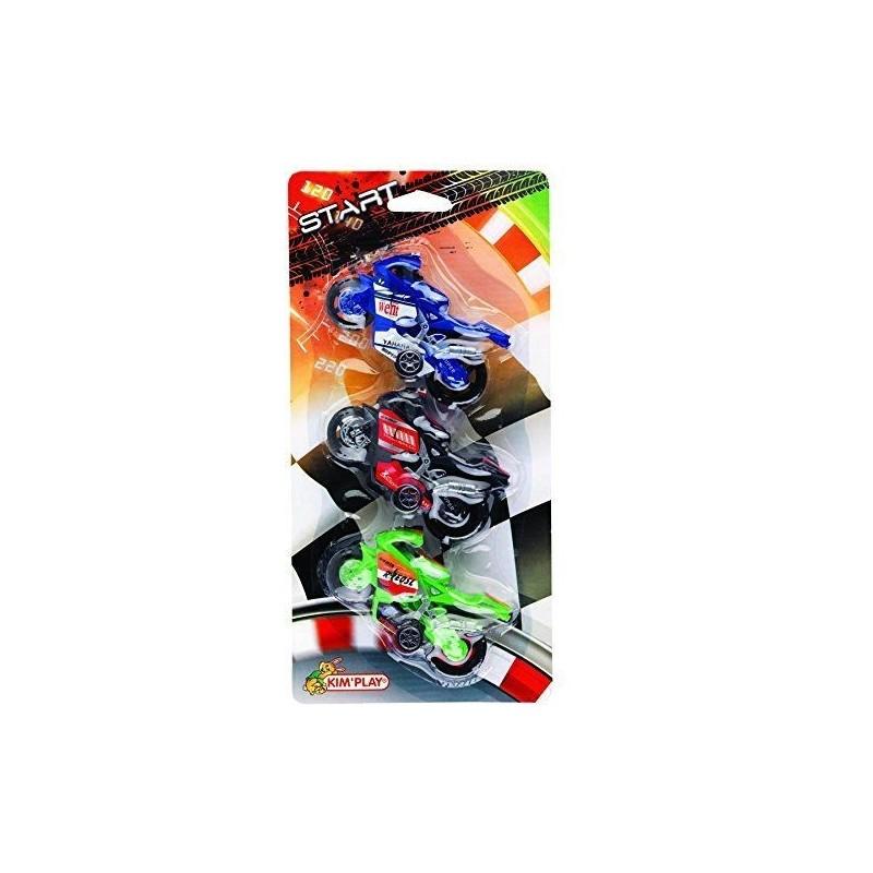 3 Motos de Course