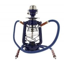 Chicha Lampe à Pétrole LED Bleu