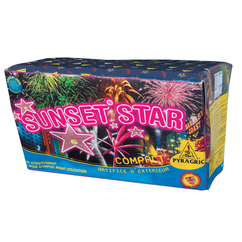 Artifices Compact Sunset Star