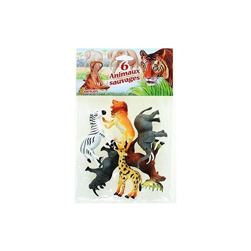 Sachet Animaux Sauvages