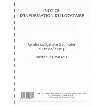 Notice d'Information du Locataire