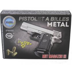 Pistolet à Billes en Métal 15 cm