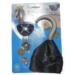 Crochet Pirate avec Accessoires