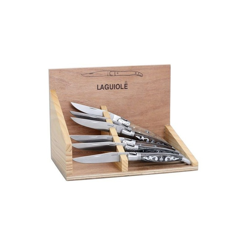 Set de 6 Couteaux Laguiole Puyol