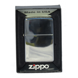 Briquet Zippo Brush Chrome Brillant