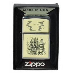 Briquet Zippo Scrimshaw