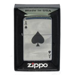 Briquet Zippo As de Pique