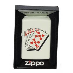 Briquet Zippo Cartes