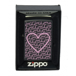 Briquet Zippo Love Pink