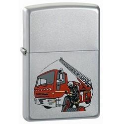 Briquet Zippo Camion de Pompier