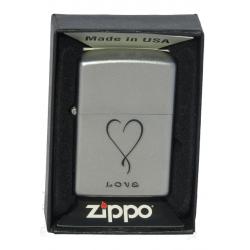 Briquet Zippo Love