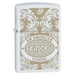 Briquet Zippo Scroll