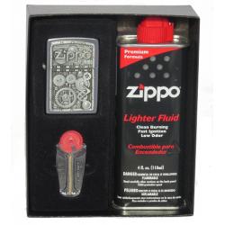Coffret Cadeau Briquet Zippo Gear Wheels