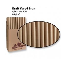 Rouleau de Papier Cadeau Kraft
