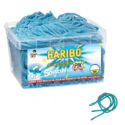 Tubo Haribo Acidofilo Schtroumpfs Pik x 300 pièces