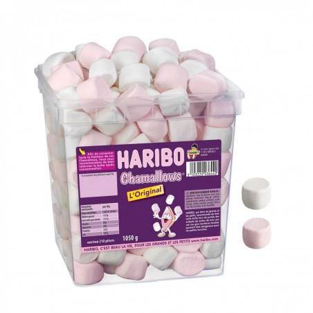 Tubo Haribo Chamallows x 210 pièces