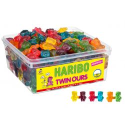 Bonbons Haribo Twin Ours