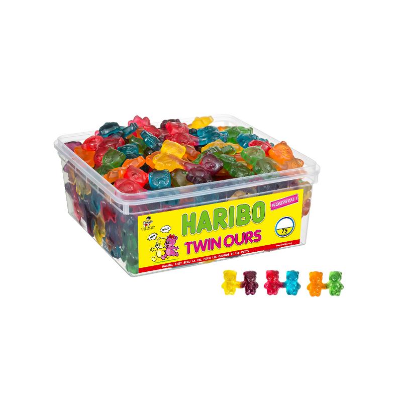 Tubo Haribo Twin Ours x 75