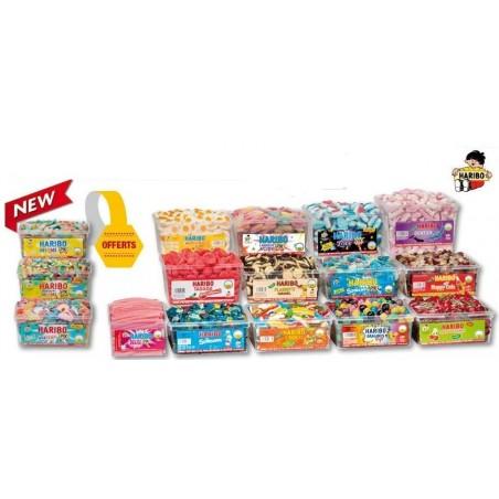 Lot de 16 Boîtes Bonbons Haribo