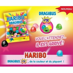 30 Mini Sachets Haribo Dragibus Pik
