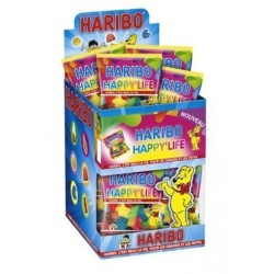 Lot de 12 Tubos Haribo Mini Sachet