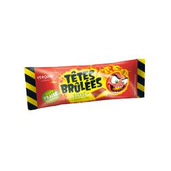 Bonbons Têtes Brûlées Fraise en Stick x 150 barres