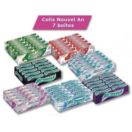 Colis Freedent Airwaves 7 Boites