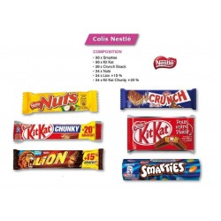 Colis Nestlé 6 Boites