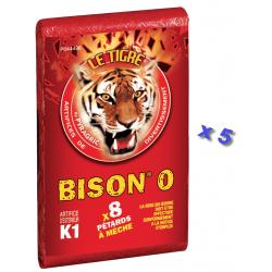Pétard le Tigre Bison 0 x 5 Paquets