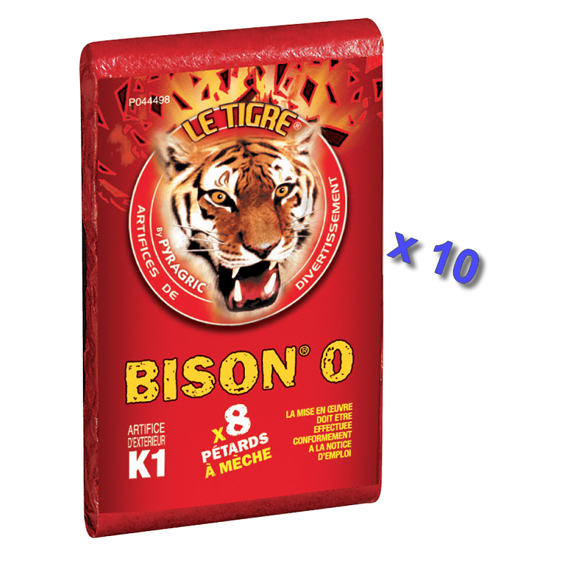Pétard le Tigre Bison 0 x 10 Paquets