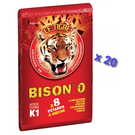 Pétard le Tigre Bison 0 x 20 Paquets