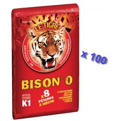 Pétard le Tigre Bison 0 x 100 Paquets