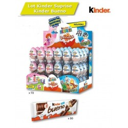 Colis Kinder Surprise Kinder Bueno