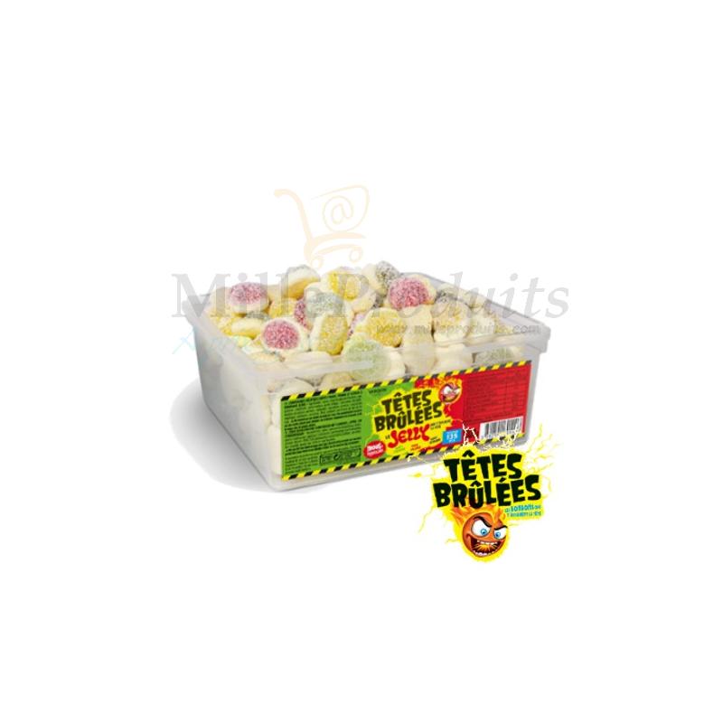 Bonbons Têtes Brûlées Jelly Fruits