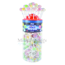 Sucettes Lolly Moon Fruits