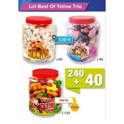 Lot Best of Tétine trio