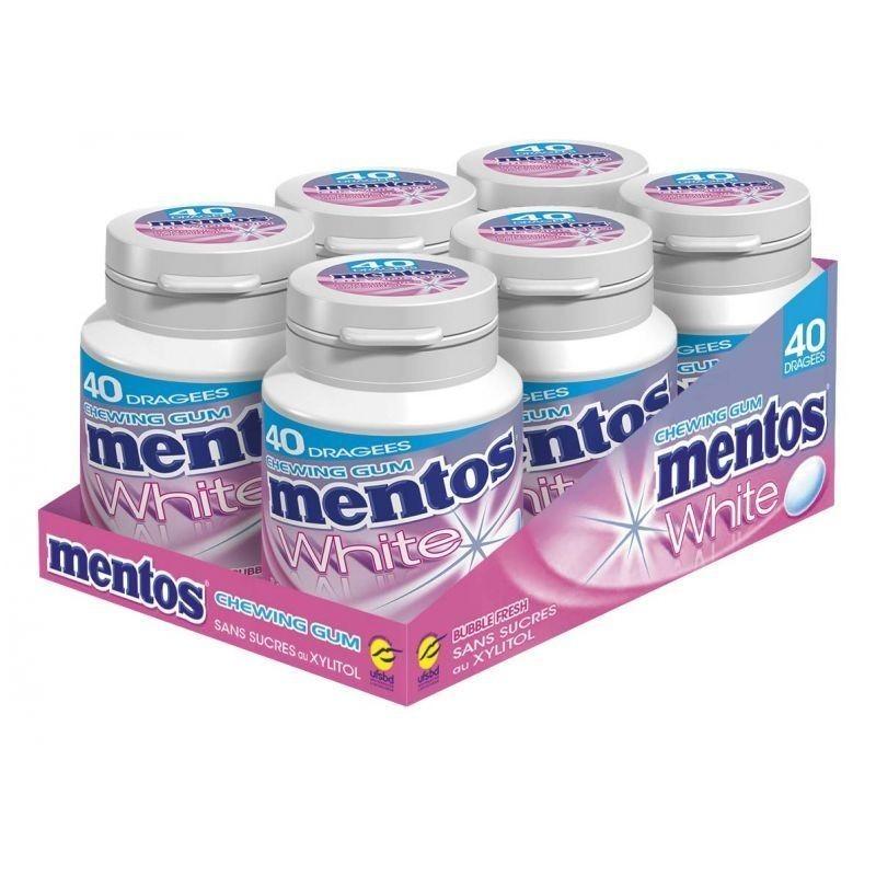 Mentos White Bubble Fresh
