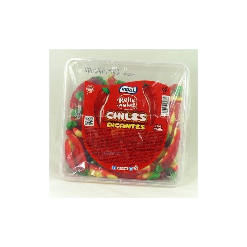 Bonbon Piment Hot Chiles Picantes