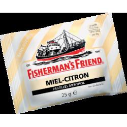 Fisherman's Friend Menthol Miel Citron sans sucres ajoutés