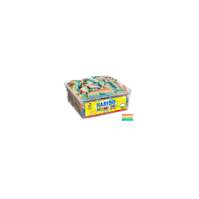 Bonbons Haribo Miami Pik
